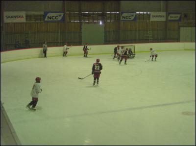 Hockeymatch i O-rinken