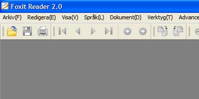 Foxit Reader - läs PDF