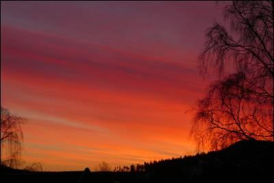 Soluppgång i slutet av feb 2008