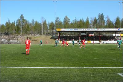 Spelades massa fotbollsmatcher dr med..