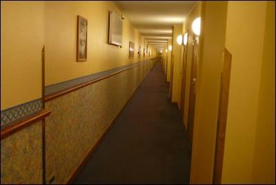 Lång korridor..