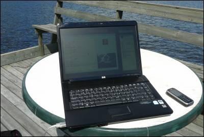 Dator, webcam och Anki!