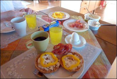 Dags för frukost!