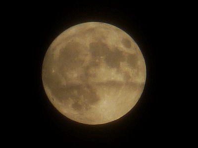 Närbild av månen