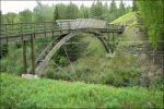 Bron över järnvägen tillbaka till parkeringen.