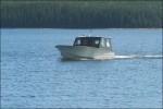 Blir hämtade med en f.d fiskebåt.