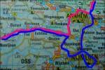 Irrade bort oss 45-60min! Kom från vänster och skulle åka rosa linje men körde blå . Detta var en lite annan väg än vi åkte till Antwerpen.