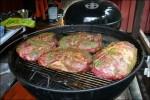 Grannens mat som grillades i 10 (!) timmar.