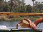 Så här tänkte jag mig en Nilenresa innan jag åkte.. lugnt och titta.
