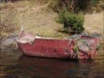 Ett stycke båt.