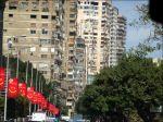 Bostadshusen i Kairo.